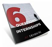 Six Questions About Internships logo