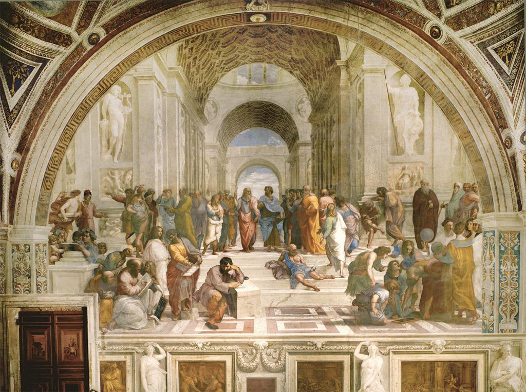 Raphael, Title: School of Athens,