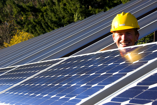 Solar Panel Installation - Oregon DOT