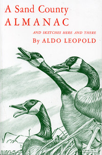Book Cover: A Sand County Almanac by Aldo Leopold