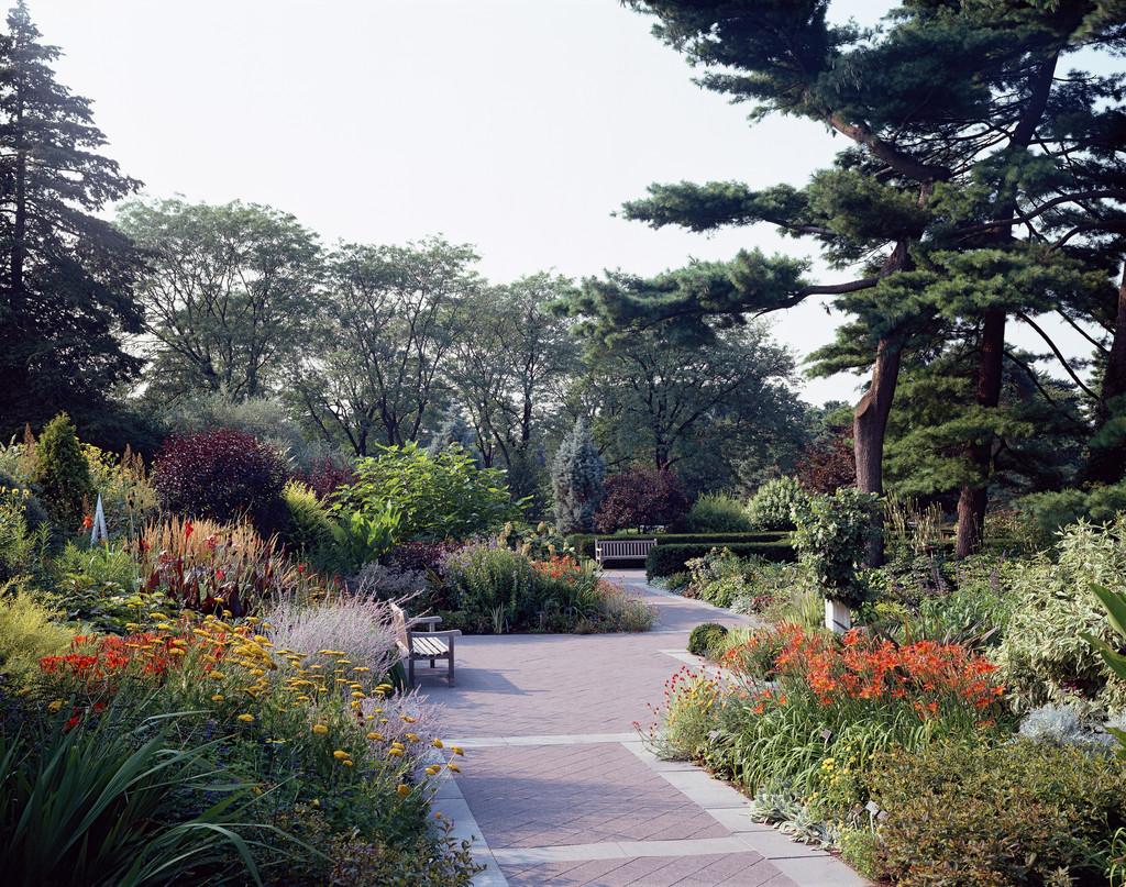 Jane Watson Irwin Perennial Garden; photo by Mick Hales