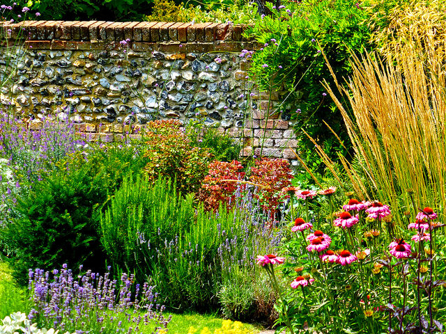 Walled garden; Photo courtesy of Flickr cc/ Herry Lawford