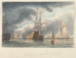 f.2 Fitting out at Portsmouth, 1846