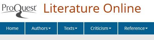 Literature Online logo.
