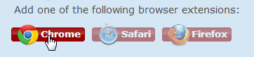 browser connector buttons
