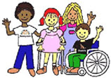 Clipart of Group of Kids