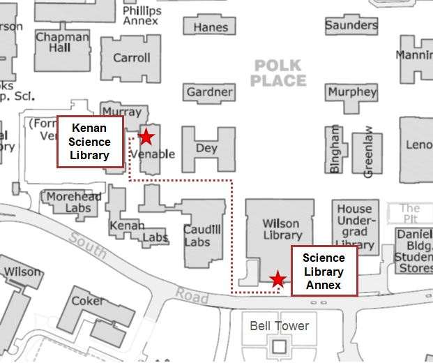 science libraries map