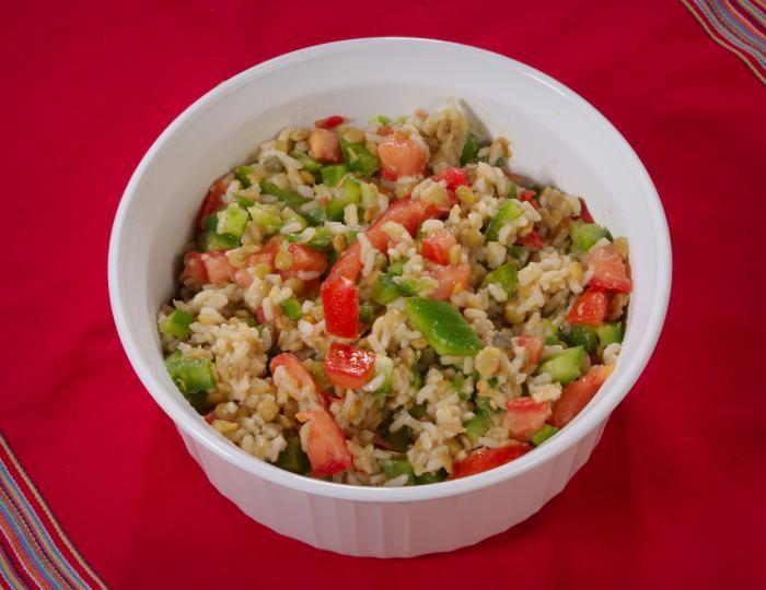 Saucy Lentil Salad