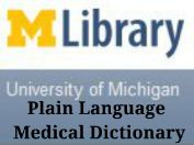 Plain Language Medical Dictionary