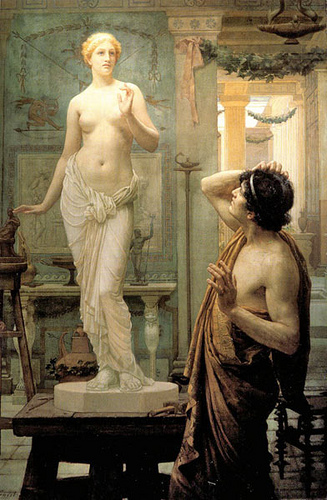 """Pygmalion and Galatea,"" Ernest Normand (1886)"