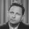 Still image of former U.S. Senator Birch Bayh captured from democratic presidential primary interview in the DMR