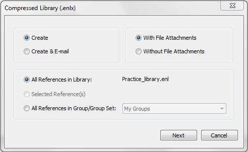Compressed Library (.enlx)