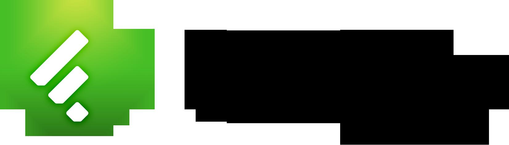 Feedly Logo.
