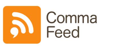 CommaFeed Logo.