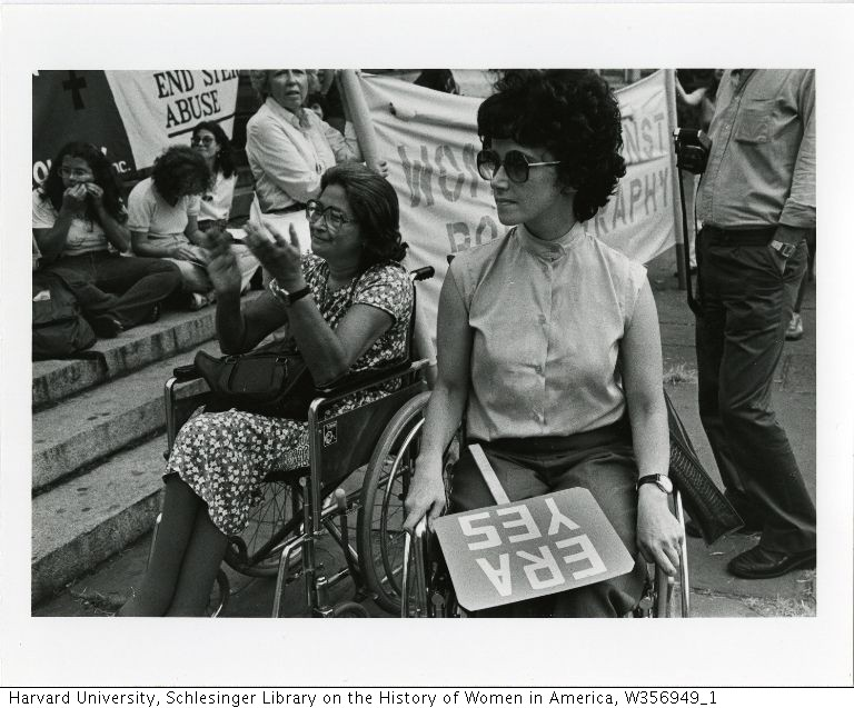 Pro-ERA Demonstration and Women '80 Demonstration. Freda Leinwand, photographer