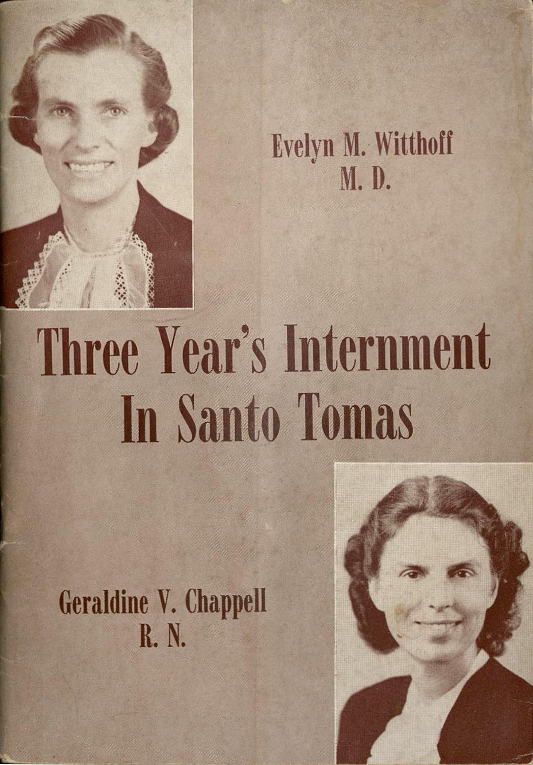 "Cover of ""Three Year's Internment in Santo Tomas"""