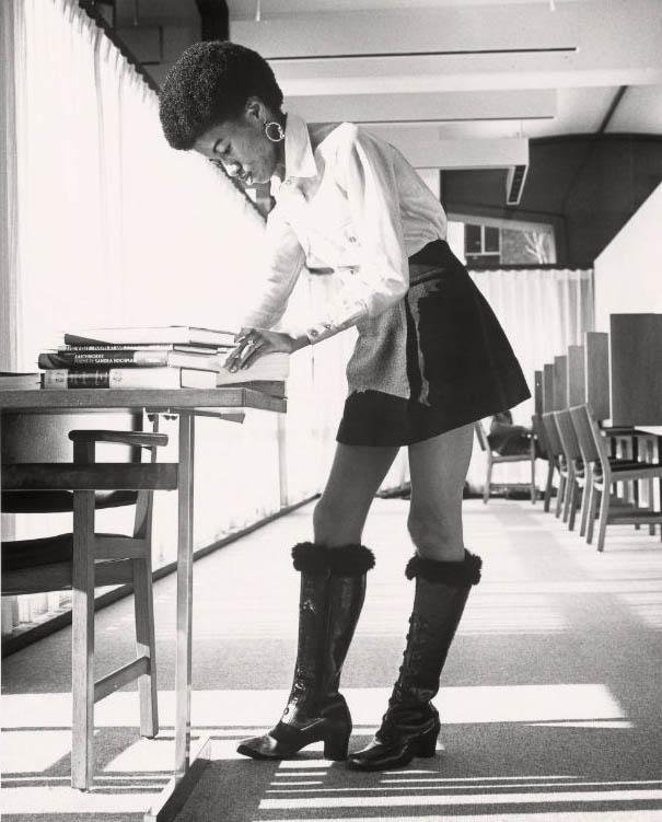 Radcliffe student, 1971. Starr Ockenga Photographs.