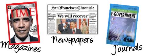 Magazine, newspapers, journals