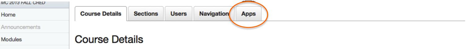 App Tab