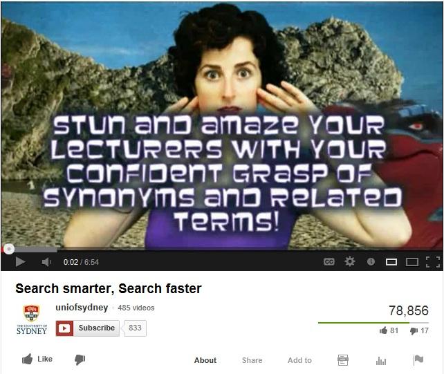 Search smarter, search faster