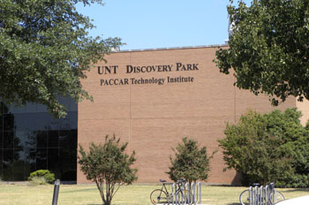UNT Discovery Park PACCAR Technology Institute building