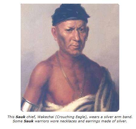 Sauk Cheif, Crouching Eagle