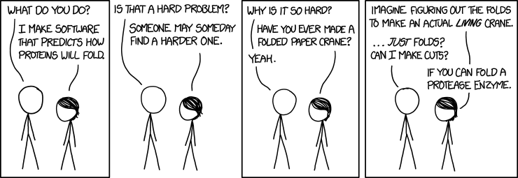 proteins comic by xkcd