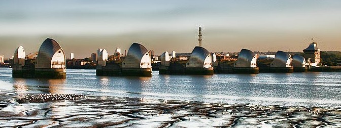 Picture of Thames barrier