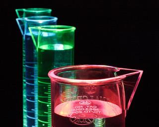 measuring flasks