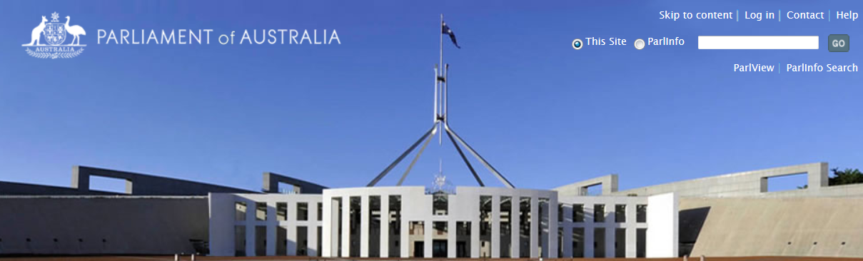 Image of the Parliament of Australia