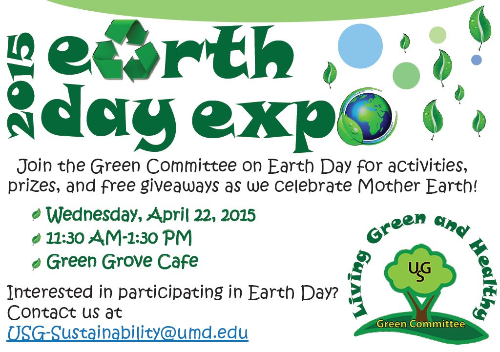 Earth Day Expo at USG Flyer