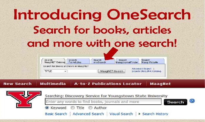 OneSearch screenshot