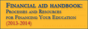 Financial Aid Handbook - Coming Soon
