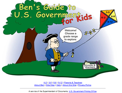 Ben's Guide to U.S. Government