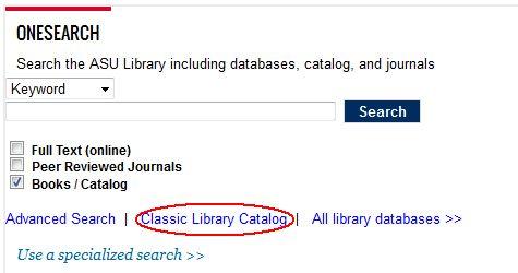 Classic Catalog