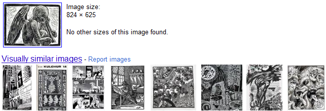 Google Reverse Image Results