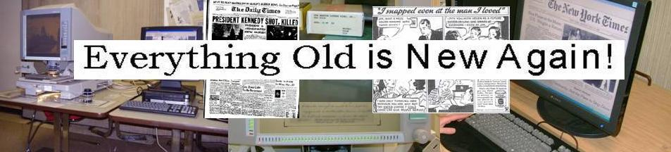 everything old is new again  microform center logo