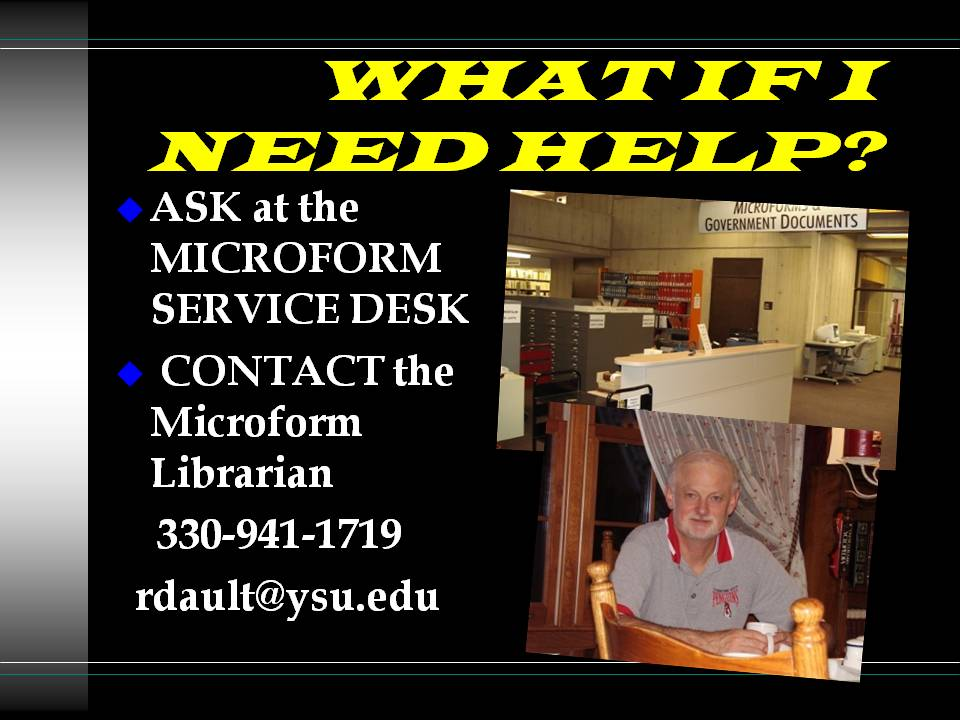 microform librarian  photo