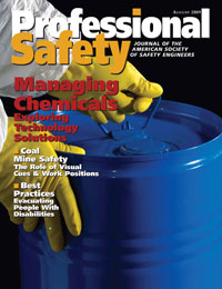 Cover of Professional Safety Magazine