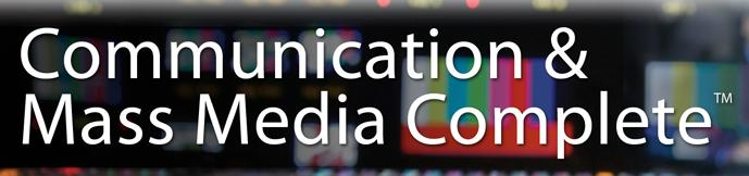Communication & Mass Media Complete Icon