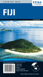 Fiji travel map cover