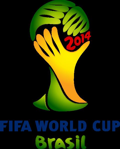 World Cup 2014 Logo-Source: Wikipedia