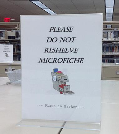 please do not reshelve sign