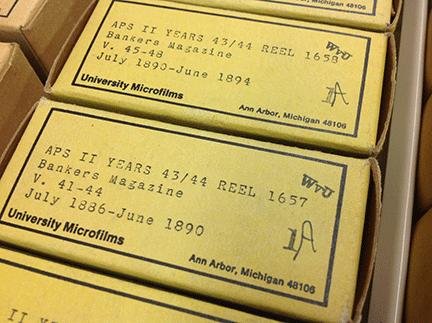 film box label