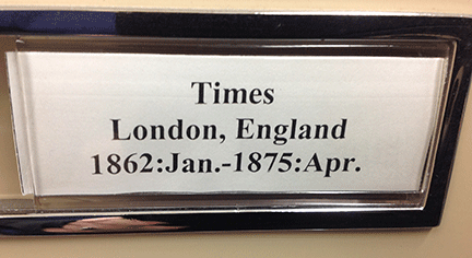 Times of London