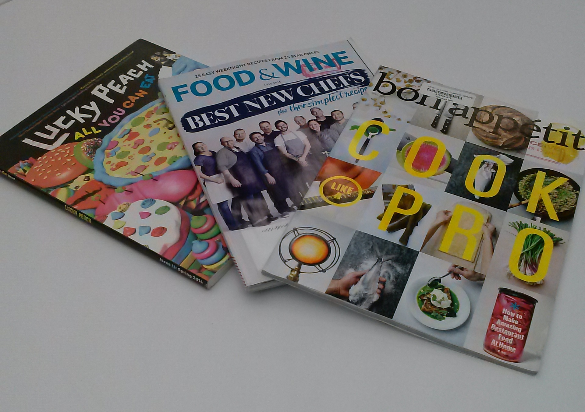 culinary magazine covers