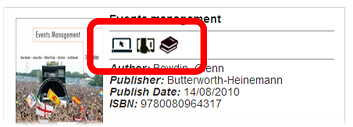 VLeBooks showing search results with read online, download or bookshelf icons highlighted.