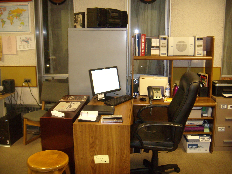 Coordinator's desk