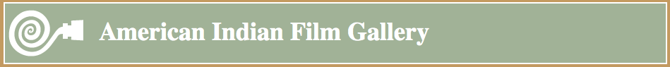 Logo for American Indian Film Gallery
