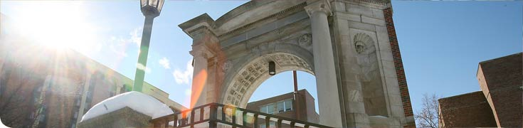 arch at Downtown campus